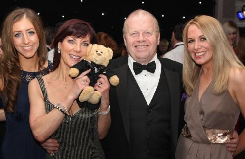 Debbie Rocket, marketing co-ordinator at Rockliffe Hall, Pam Royle, patron of the GNAAS, Nick Holmes, MD of Rockliffe Hall and Katie Sco