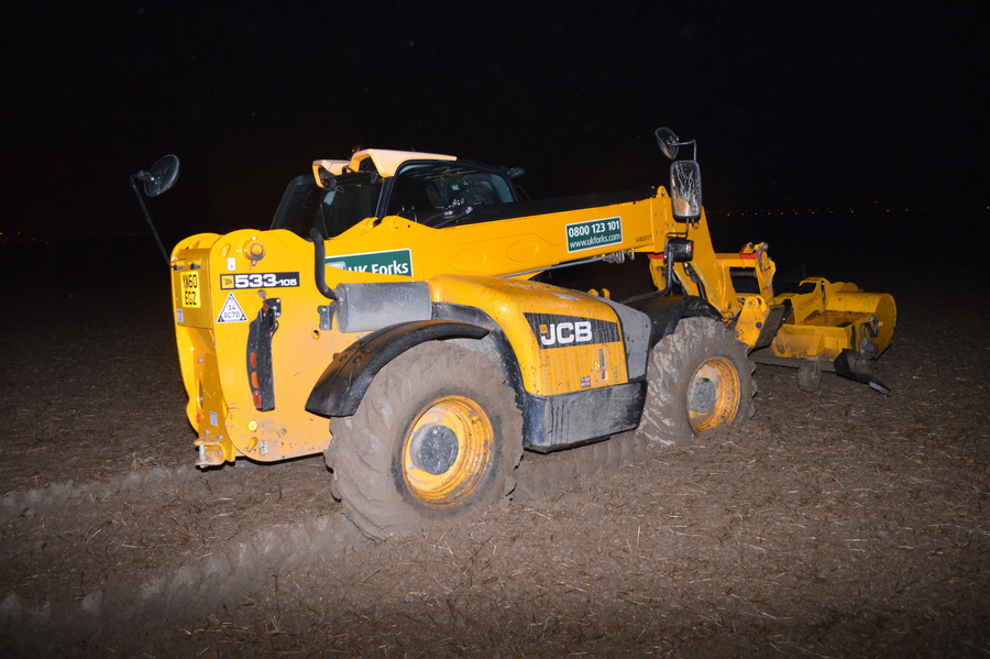 Man in court after police chase with JCB