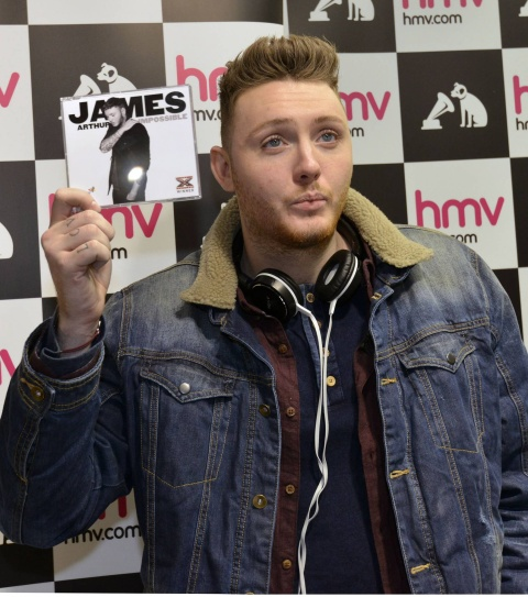 DREAM ON: James Arthur proves dreams can come true