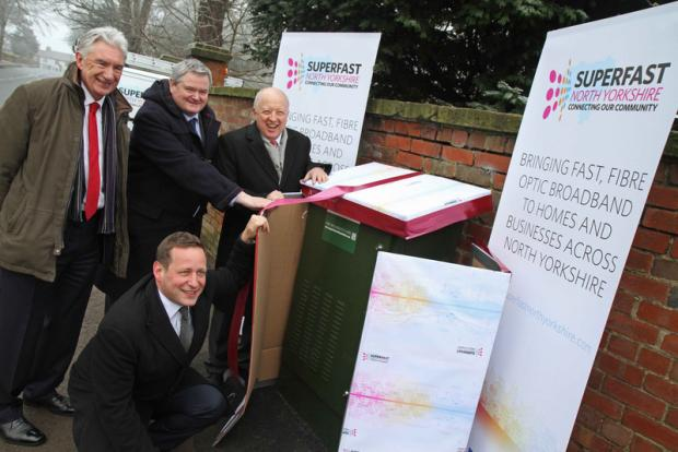 "TRIUMPH: Minister for Communications Ed Vaizey ""unwraps�"