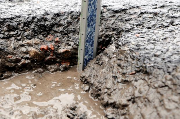 £18M - BUT DOES IT GO DEEP ENOUGH? Local authorities warn of a 'pothole crisis' on the regions roads