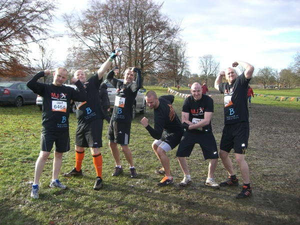 The 'Tough Mudder' team