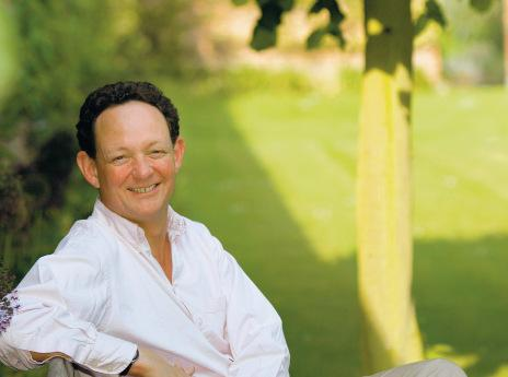 DELIGHTED: Charles Forbes-Adam, owner of Escrick Park Estate, near York