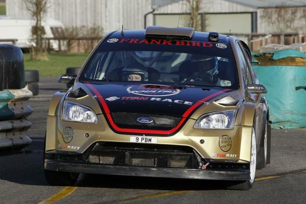 DRIVING FORCE: Paul Bird and co-driver Kirsty Riddick will be seeking success in the Jack Frost Stages Rally on Sunday