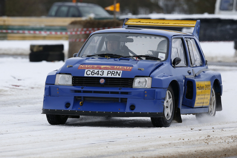 SETTING THE PACE: Jack Frost Stages Rally winners Chris Wise and Tracey Taylor West tackle Tower Bend at Croft circuit last weekend