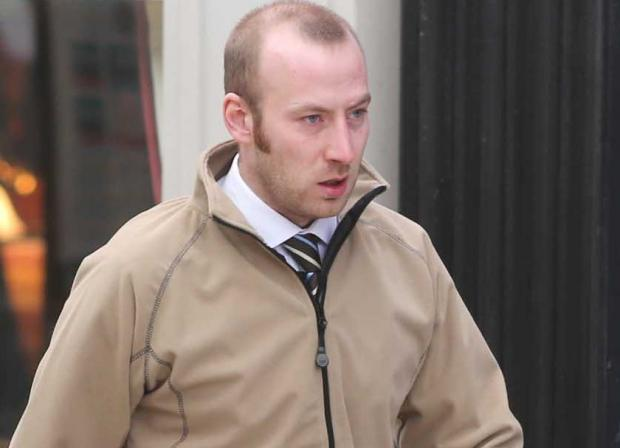 Father-of-one, Lewis Ward, has been warned he could face jail