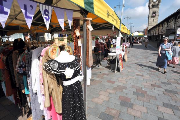 Darlington Sunday People's Market has been crowned Britain's favourite