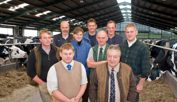 WORKING TOGETHER: Farm vets