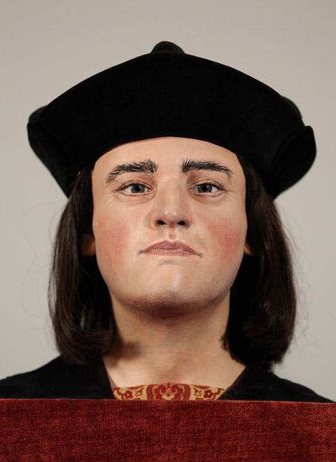 Darlington and Stockton Times: The recreation of Richard III's head