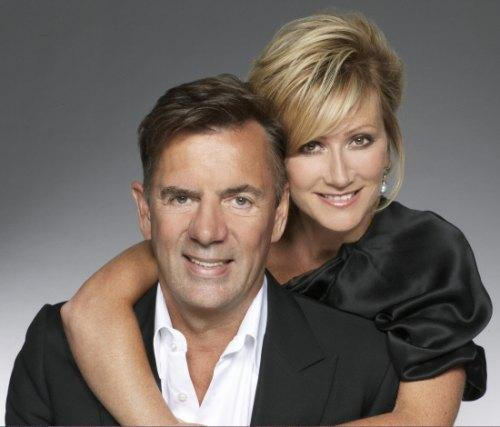 HAPPIER TIMES: Duncan Bannatyne and his former wife, Joanne, pictured in 2009