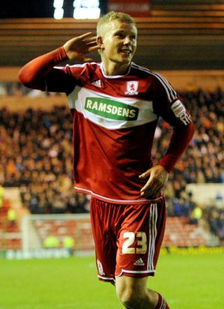 BIG PERIOD: Aitor Karanka has urged Curtis Main to take his Middlesbrough career to the next level