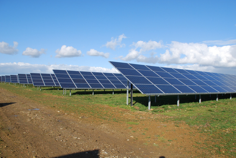 OPPORTUNITY: A solar panel farm, which could soon spring up in the North