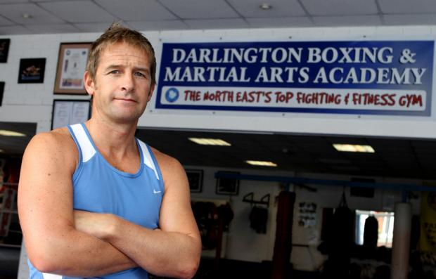 Paul Hamilton, owner of the Darlington Boxing and Martial Arts Academy