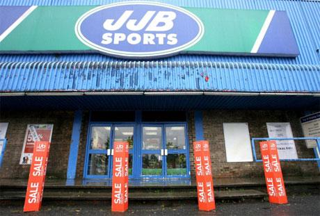 Former JJB shop in Darlington