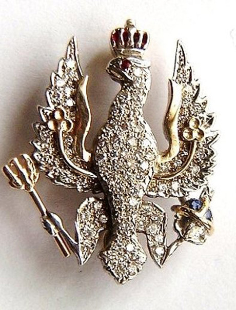 SENTIMENTAL VALUE: The stolen military brooch