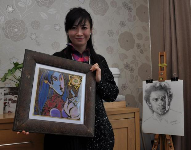 ON SHOW: Chinese artist Annie Liu, whose work will be showcased at Durham County Council's open exhibition