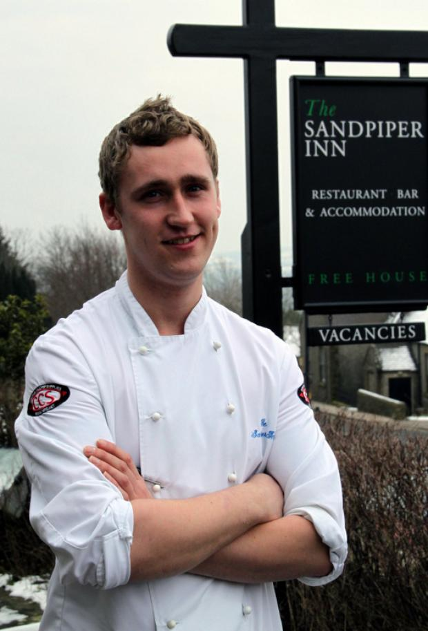BACK: Chef Sean Wrest, who has returned from Heston Blumenthal's Fat Duck restaurant