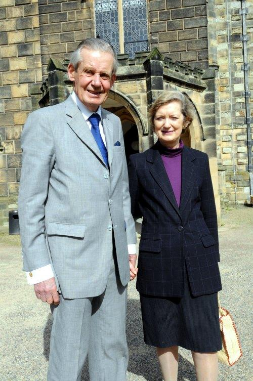 'INCREDIBLE JOB': Sir Paul and Lady Sarah Nicholson