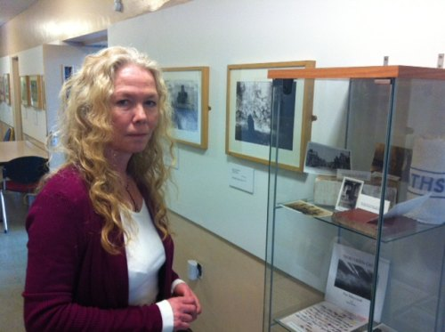 Bonnie Davies, of The Bridge Centre for Visual Arts, in Darlington