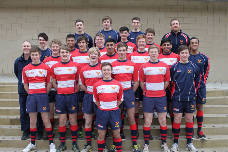 READY TO GO: Youngsters from Yarm School