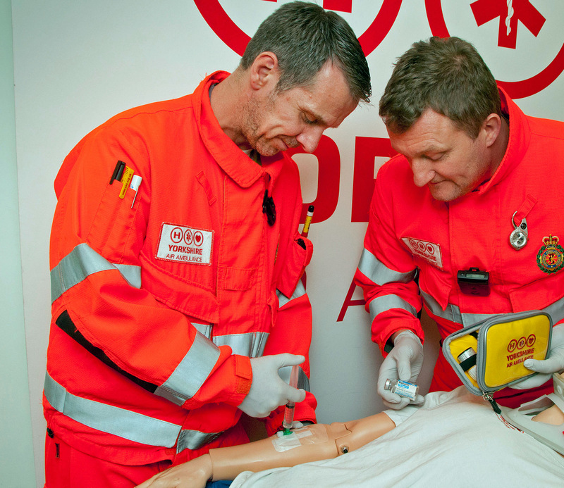 KILLING PAIN: Yorkshire Air Amb