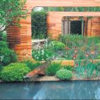 CHELSEA GARDEN: The Homebase Teenage Cancer Trust Garden designed by Joe Swift.