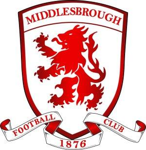 Darlington and Stockton Times: Football Team Logo for Middlesbrough