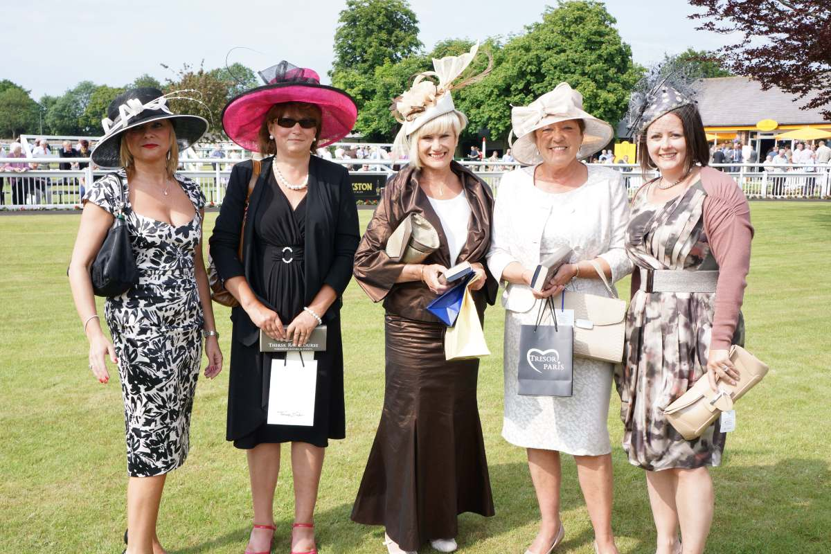 Hats off to the ladies at Ripon and Thirsk races