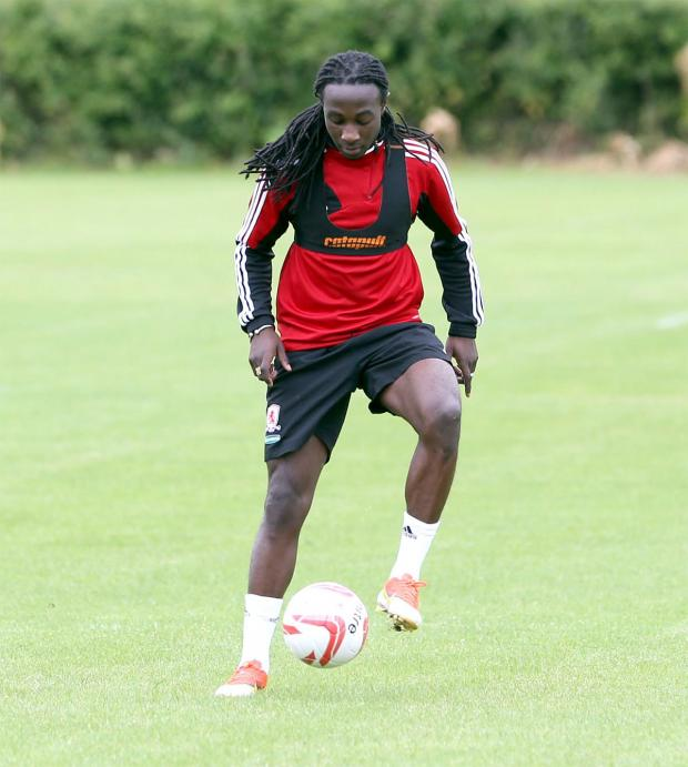Darlington and Stockton Times: COULD LEAVE: Marvin Emnes