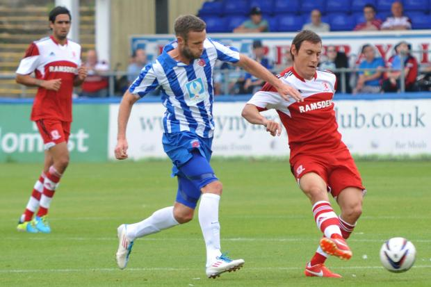 Darlington and Stockton Times: In trouble: Dean Whitehead has picked up 14 yellow cards this season