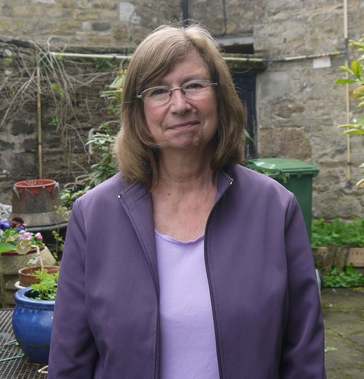 ROLE: Prison volunteer Kay Atkinson and Northallerton Prison