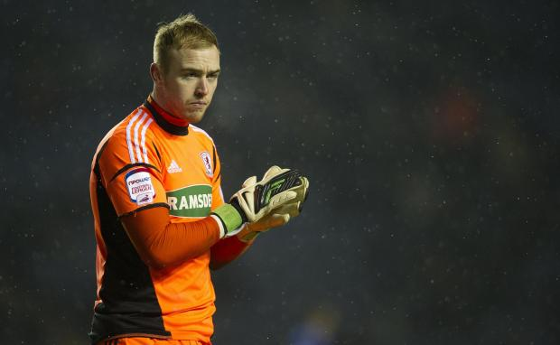 OUT IN THE COLD: Jason Steele will not be recalled despite Tomas Mejias' recent struggles