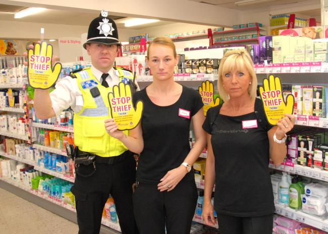 Handy Reminder To Deter Potential Shoplifters Darlington And