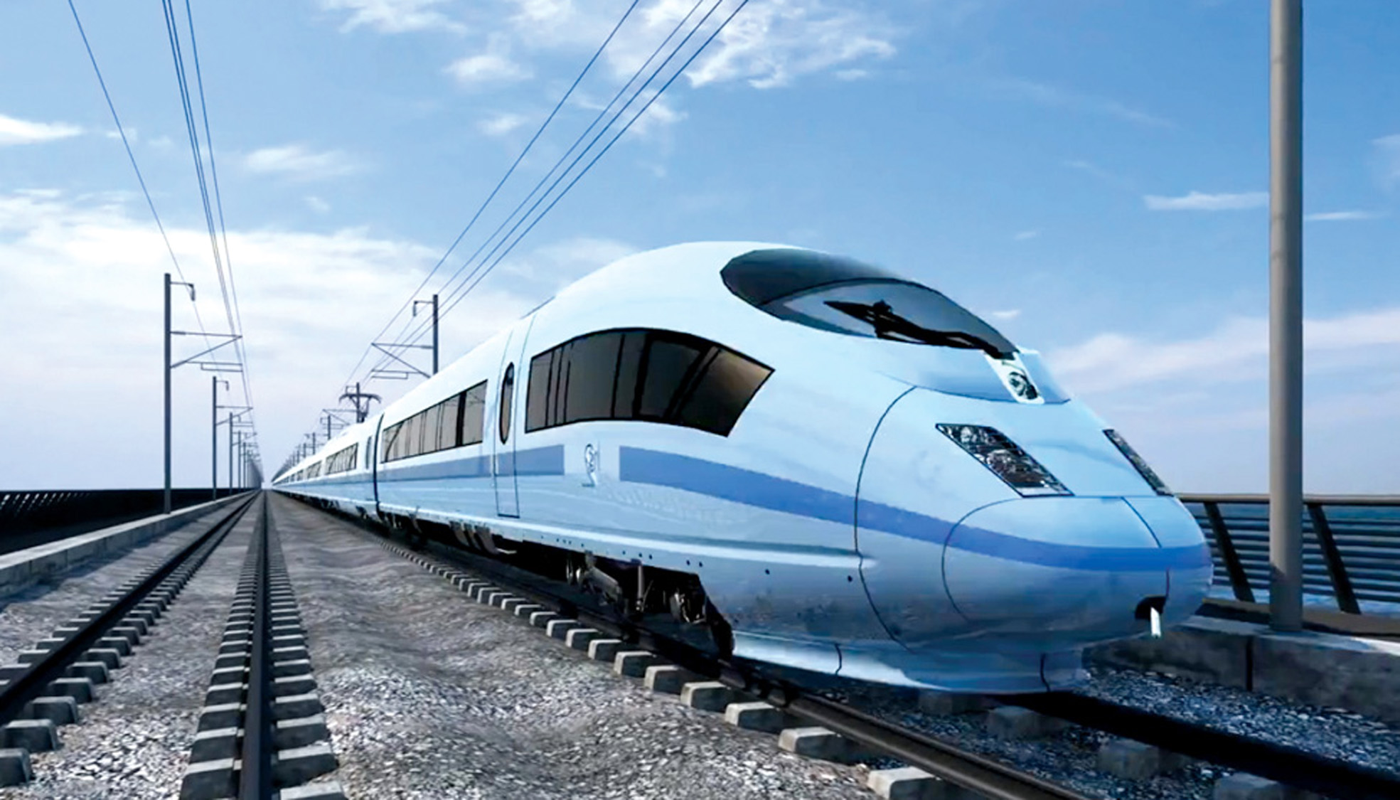 What the proposed high-speed rail link HS2 would look like