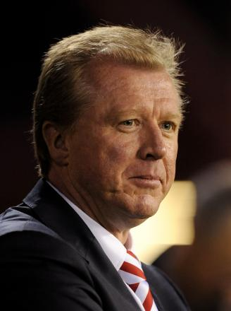 Riverside return: Former Boro boss Steve McClaren is now in charge of Derby