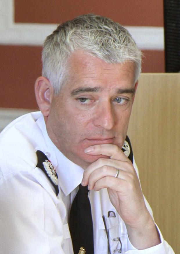 Darlington and Stockton Times: Chief Constable Dave Jones