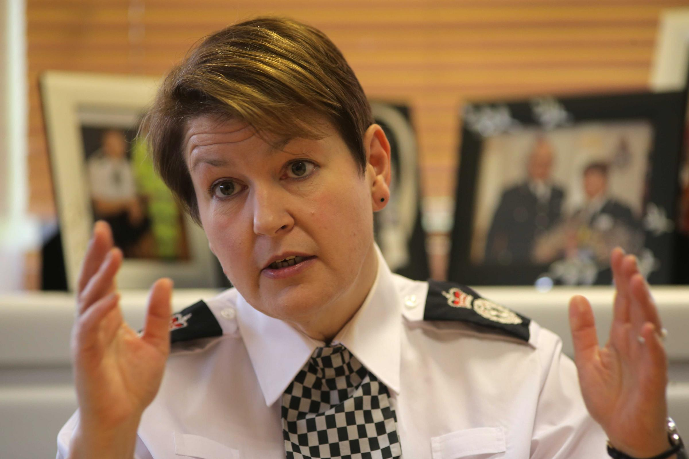 Cleveland Chief Constable Jacqui Cheer.