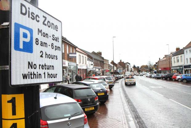 PARKING CHARGES: Motorists will have to pay 80p an hour to park on Northallerton High Street from the summer.