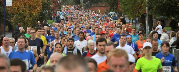 Darlington and Stockton Times: Runners rtaking part in last year's Yorkshire Marathon