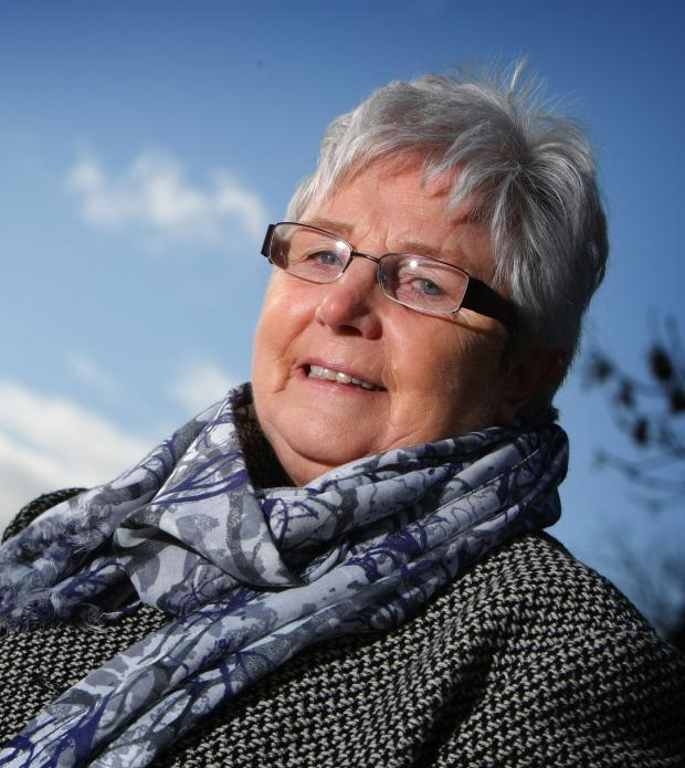 Darlington and Stockton Times: PARISH PLANS: Parish council chairwoman Doris Jones