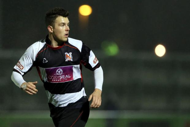 Darlington and Stockton Times: BENCH DUTY: Nathan Fisher has often been used as a sub this season