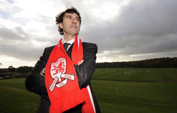 INTERESTING CAREER: Aitor Karanka made a number of unexpected moves prior to joining Middlesbrough