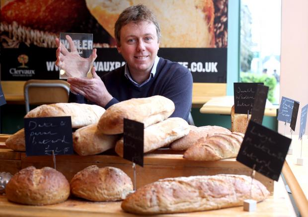 Rick McCordall, of Clervaux Bakery (file pic)
