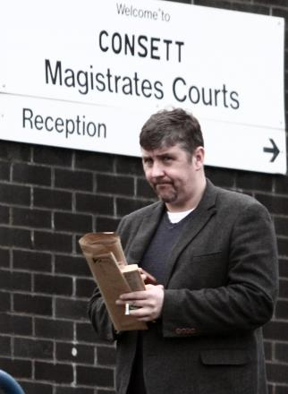 Ex-armed police officer Vaughan Dodds pictured before an earlier court hearing.