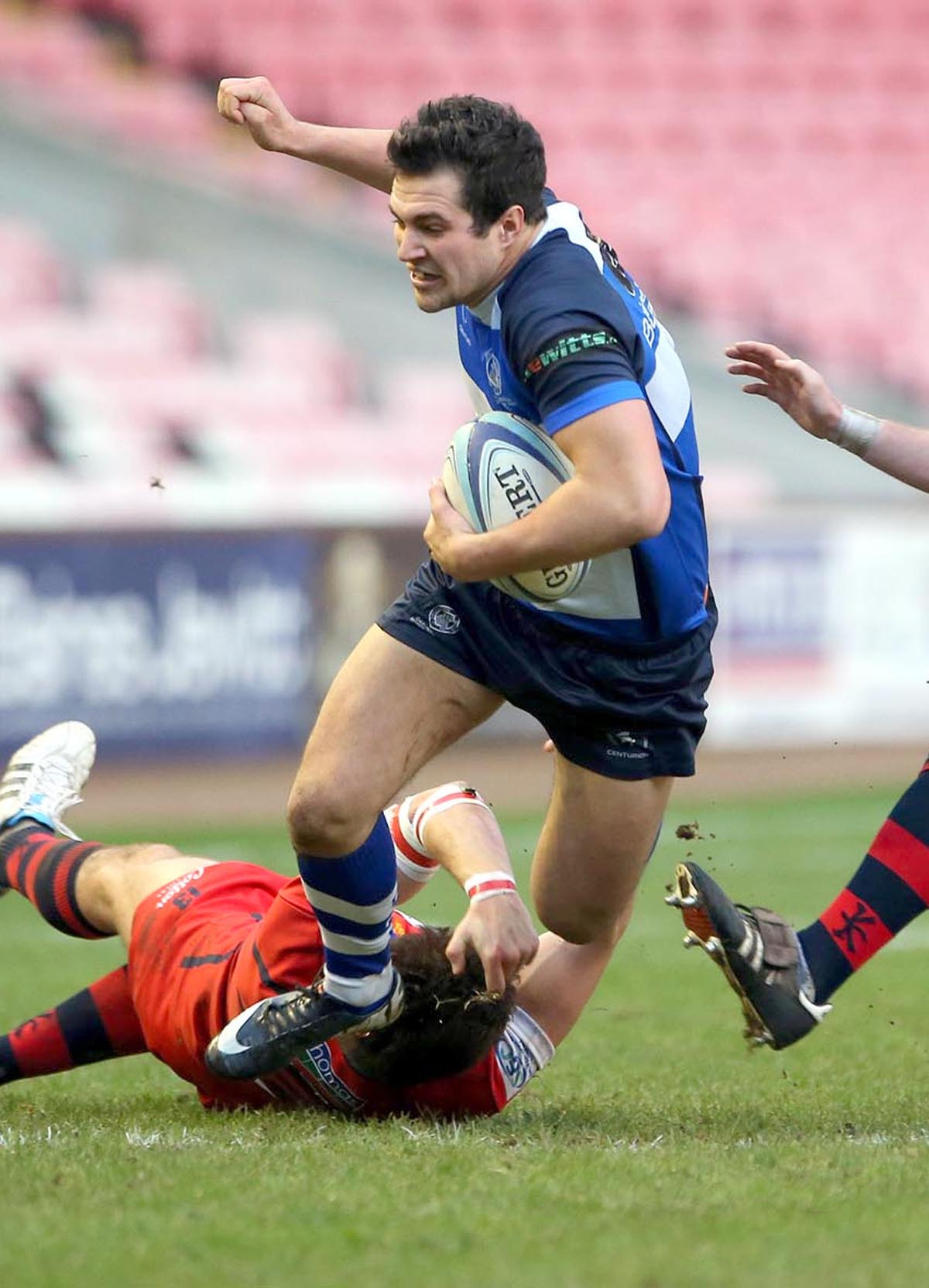 PROMOTION THE AIM: Mowden's Cameron Mitchell against Cheste