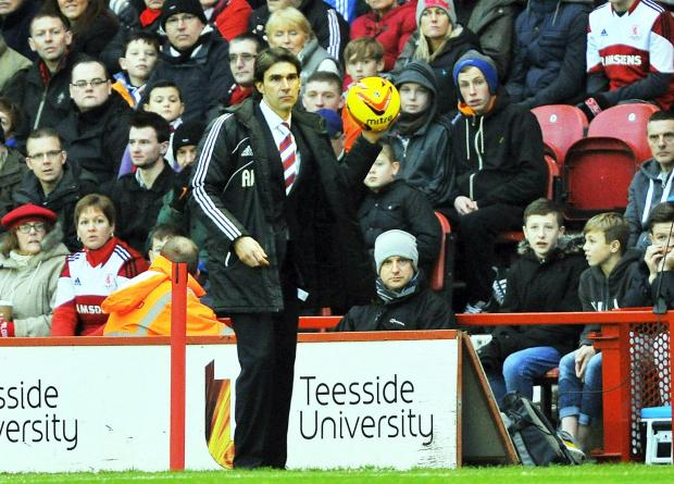 PAY BACK: Middlesbrough manager Aitor Karanka is keen to repay the club's loyal supporters