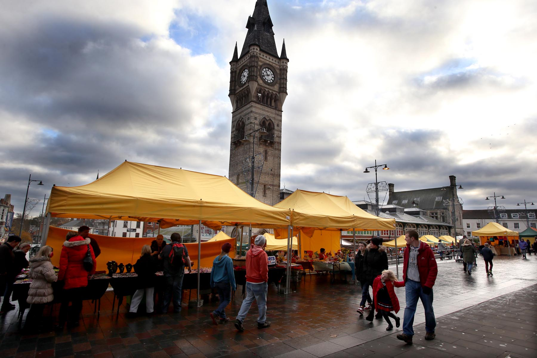 Darlington Sunday People's Market, which is offering reduced rates for teenage entrepreneurs