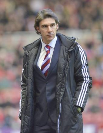 CONCERNED: Aitor Karanka admits Middlesbrough's form since he arrived is a worry