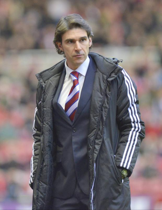 Darlington and Stockton Times: CONCERNED: Aitor Karanka admits Middlesbrough's form since he arrived is a worry