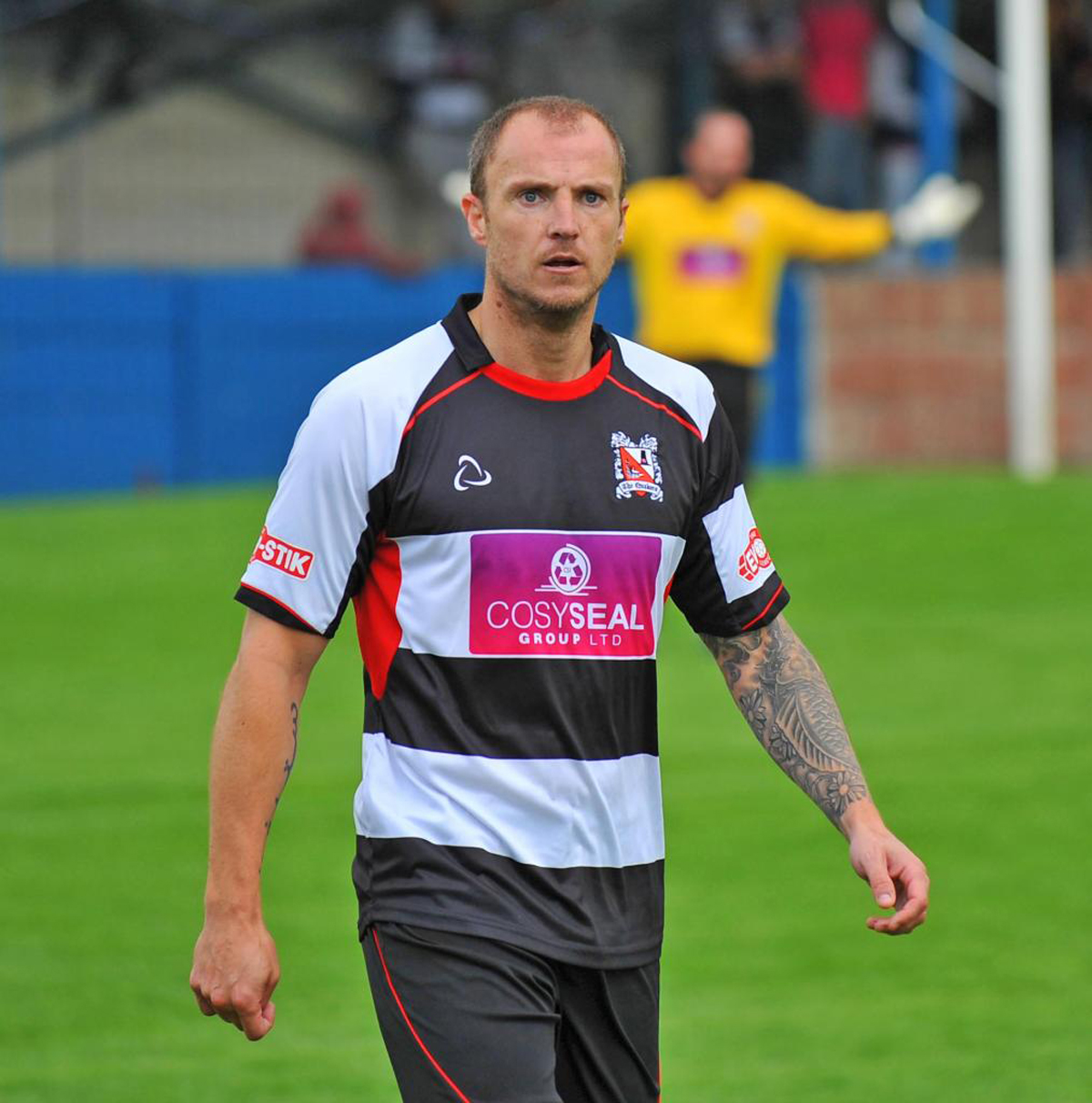 THREE TIMES A QUAKER: Darlington defender Alan White